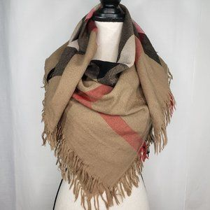 Burberry Classic House Check Scarf Authentic Wool